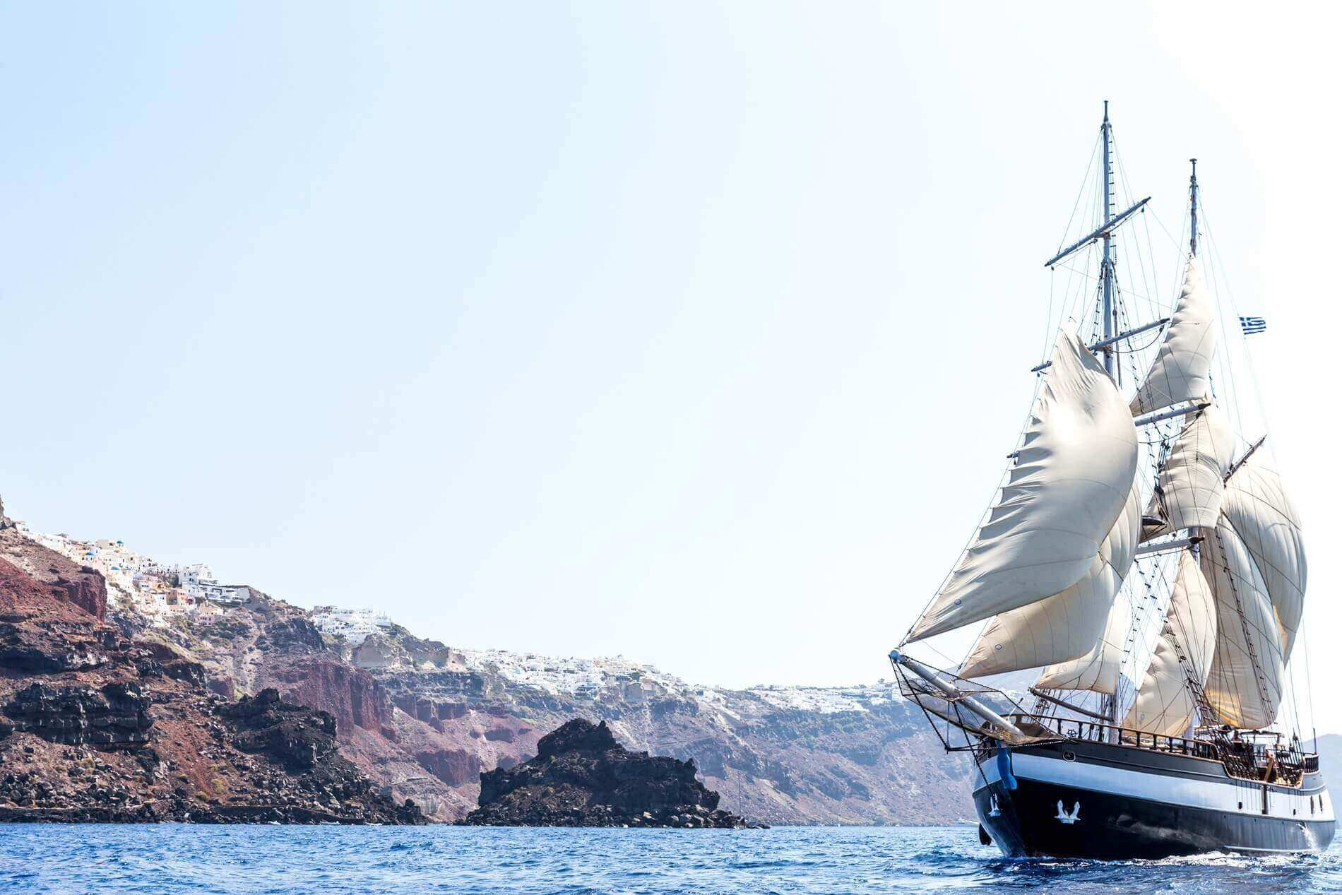 Santorini Sailing with Booking Day Trip