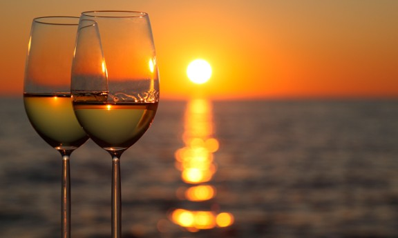 Santorini Winery Tour and Magnificent Sunset